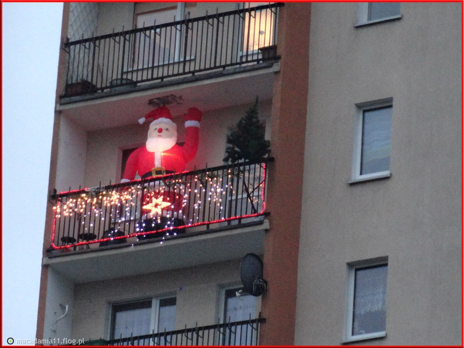 Balkon za mały czy Mikolaj za duży?