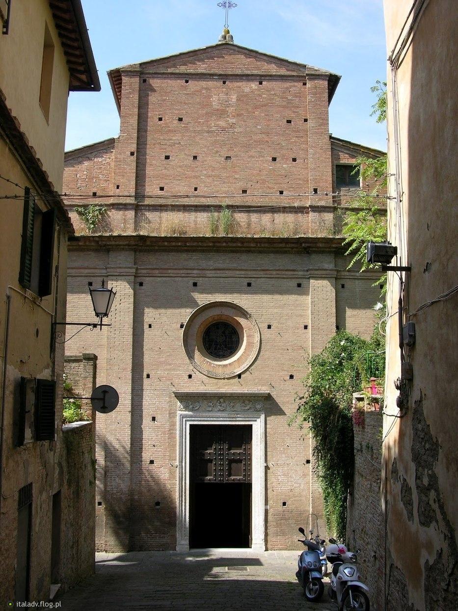 Siena, Chiesa Santa Maria di Portico a Fontegiusta.