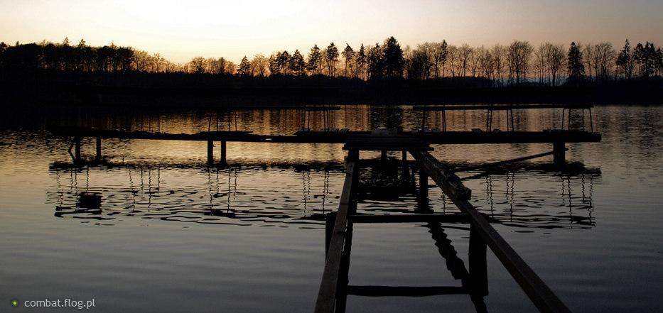 Jezioro Górne w Łapinie