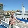 Portoferraio, 9.08.2011. :: Sono ormai imbarcato alla<br /> nave Toremar che mi pren<br />de a Piombino, Arrivedert<br />i Isola d&#039;Elba!